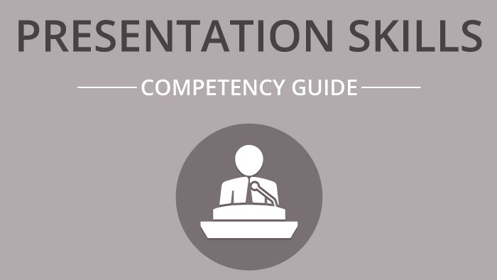 Presentation Skills competency guide