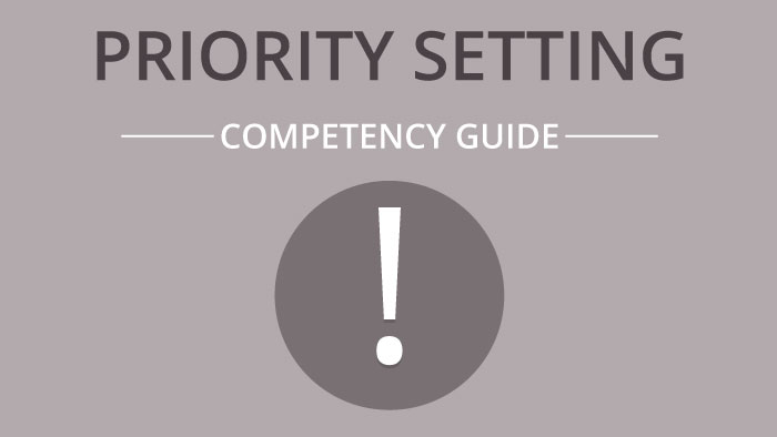 Priority Setting competency guide