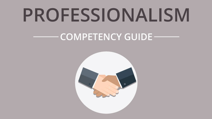 Professionalism competency guide
