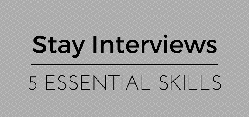 Stay Interviews blog post