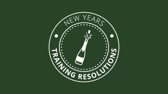 New Year's Training Resolutions
