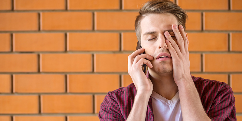 Bad listener on phone conversation