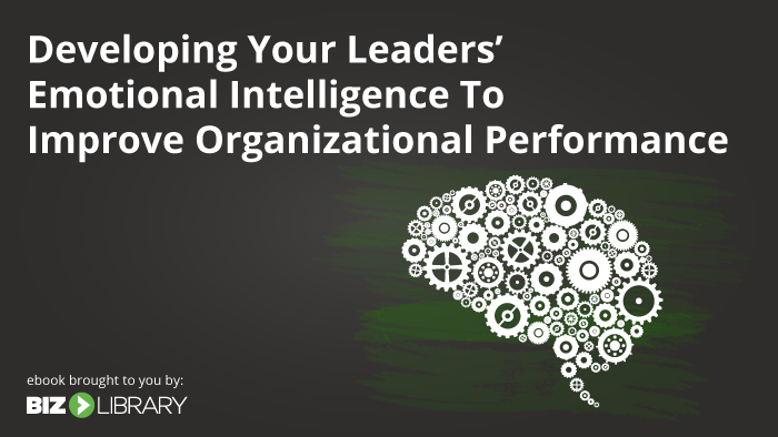 Developing Your Leaders' Emotional Intelligence to Improve Organizational Performance