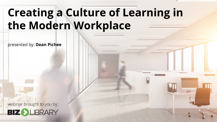 Stay Ahead of Change by Creating a Learning Culture
