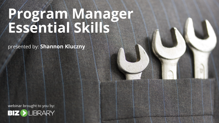 top 10 essential skills for program managers