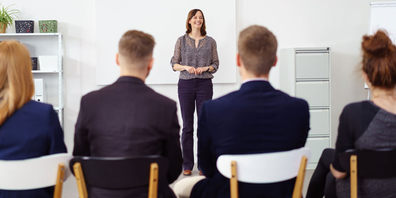 Public speaking is not a talent – it is a skill that can be learned and improved upon.