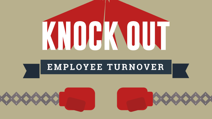 Knock Out Employee Turnover infographic