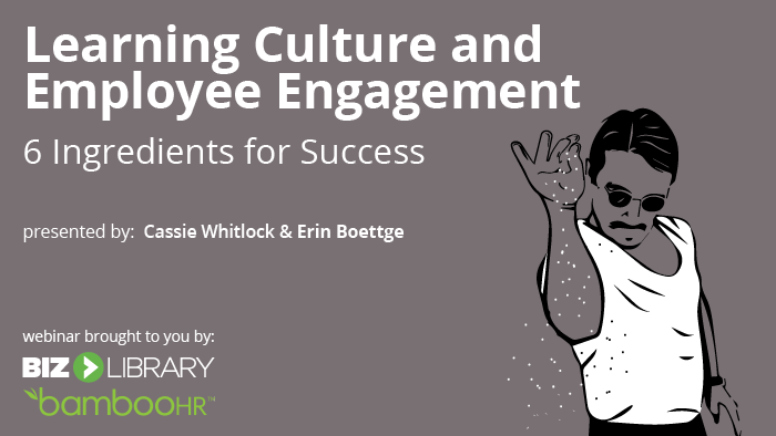 learning culture and employee engagement webinar