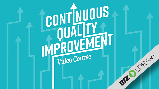 Continuous Quality Improvement video course cover image