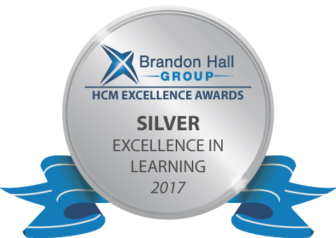 2017 Silver Brandon Hall Group Excellence Award
