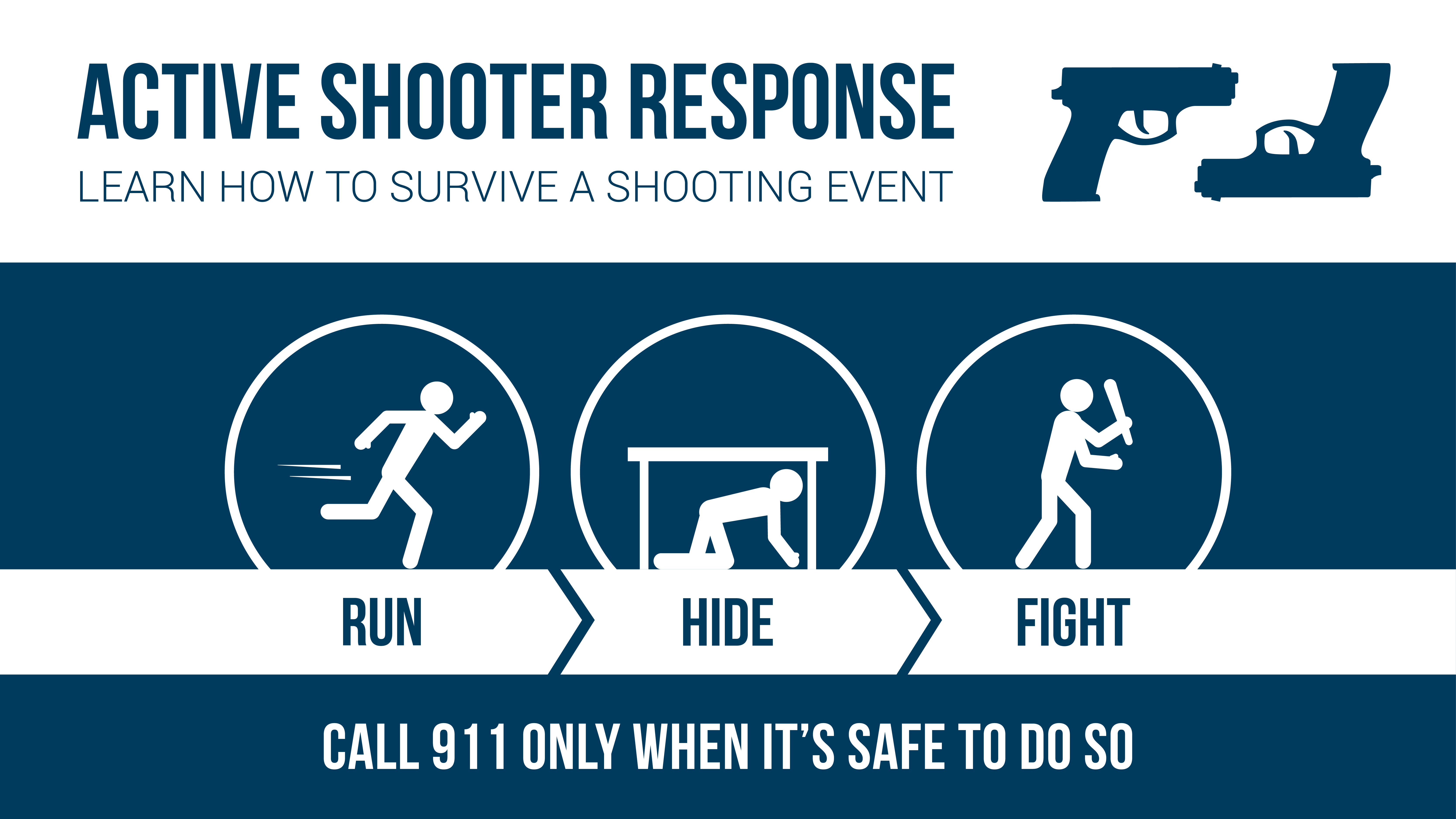 Prevent Panic to Stay Safe in an Active Shooter Situation