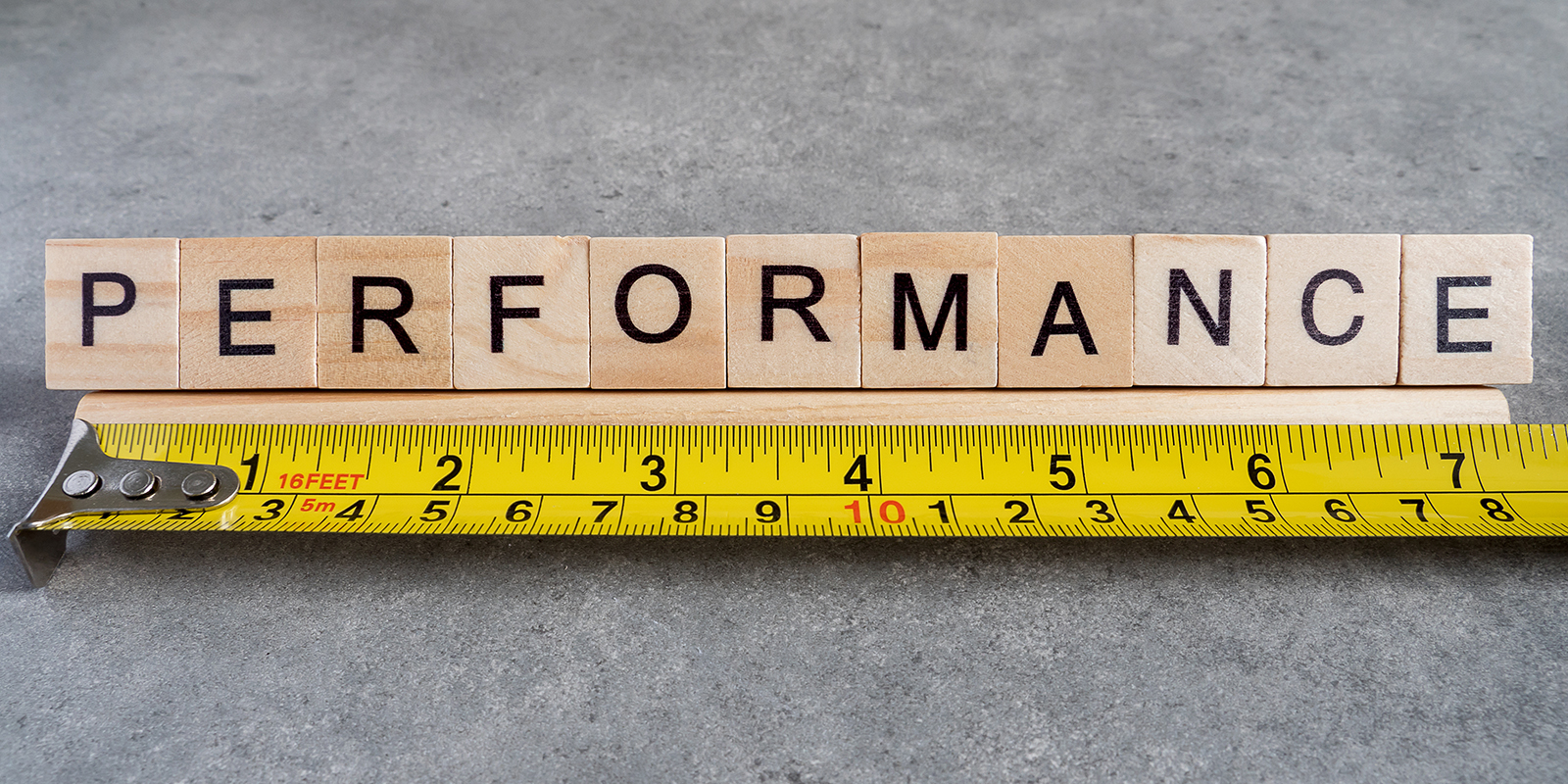 Measuring performance with performance appraisals