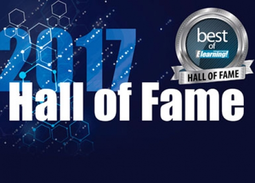 Elearning Hall of Fame logo