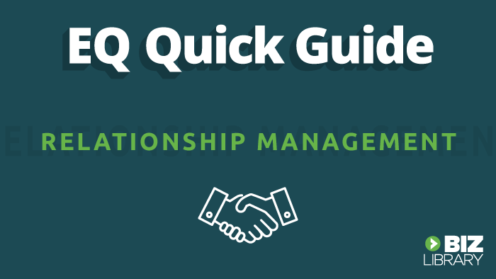 Relationship Management quick guide