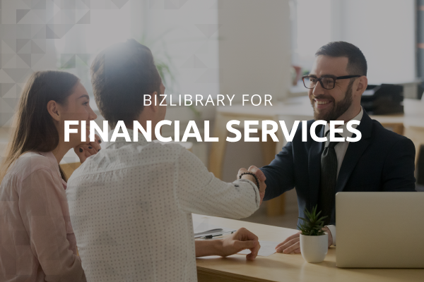 BizLibrary for financial services