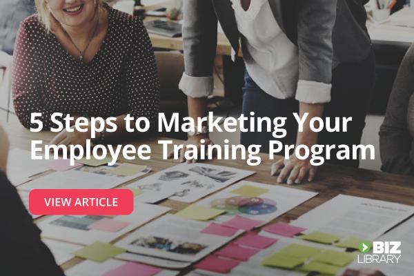 marketing employee training programs