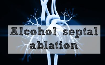 Alcohol septal ablation