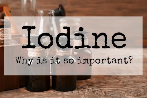 Iodine | Dr  John Bergman