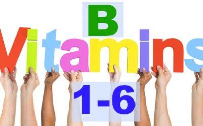 90 Essential Nutrients- Part 2: B Vitamins (1-6)