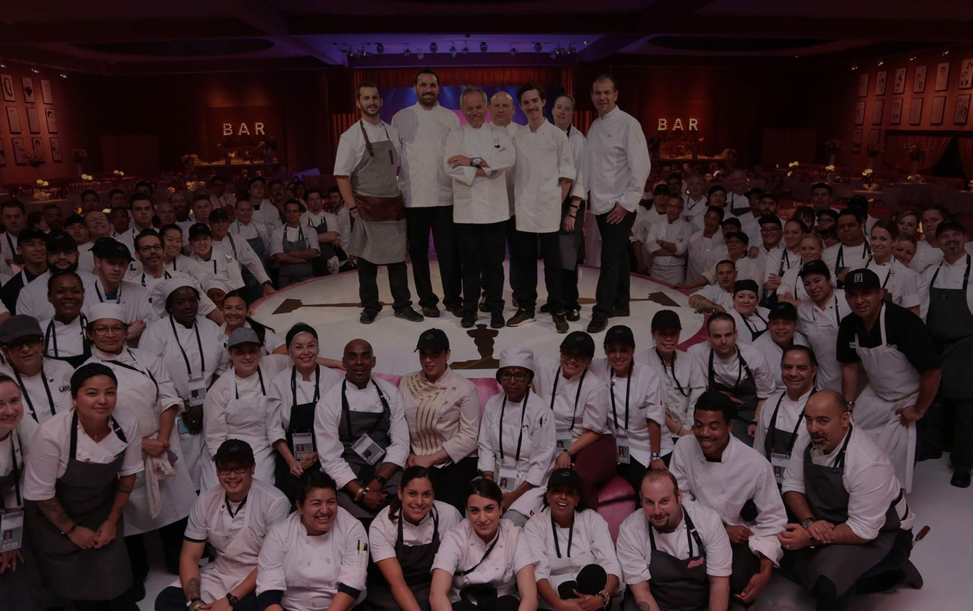 our team wolfgang puck