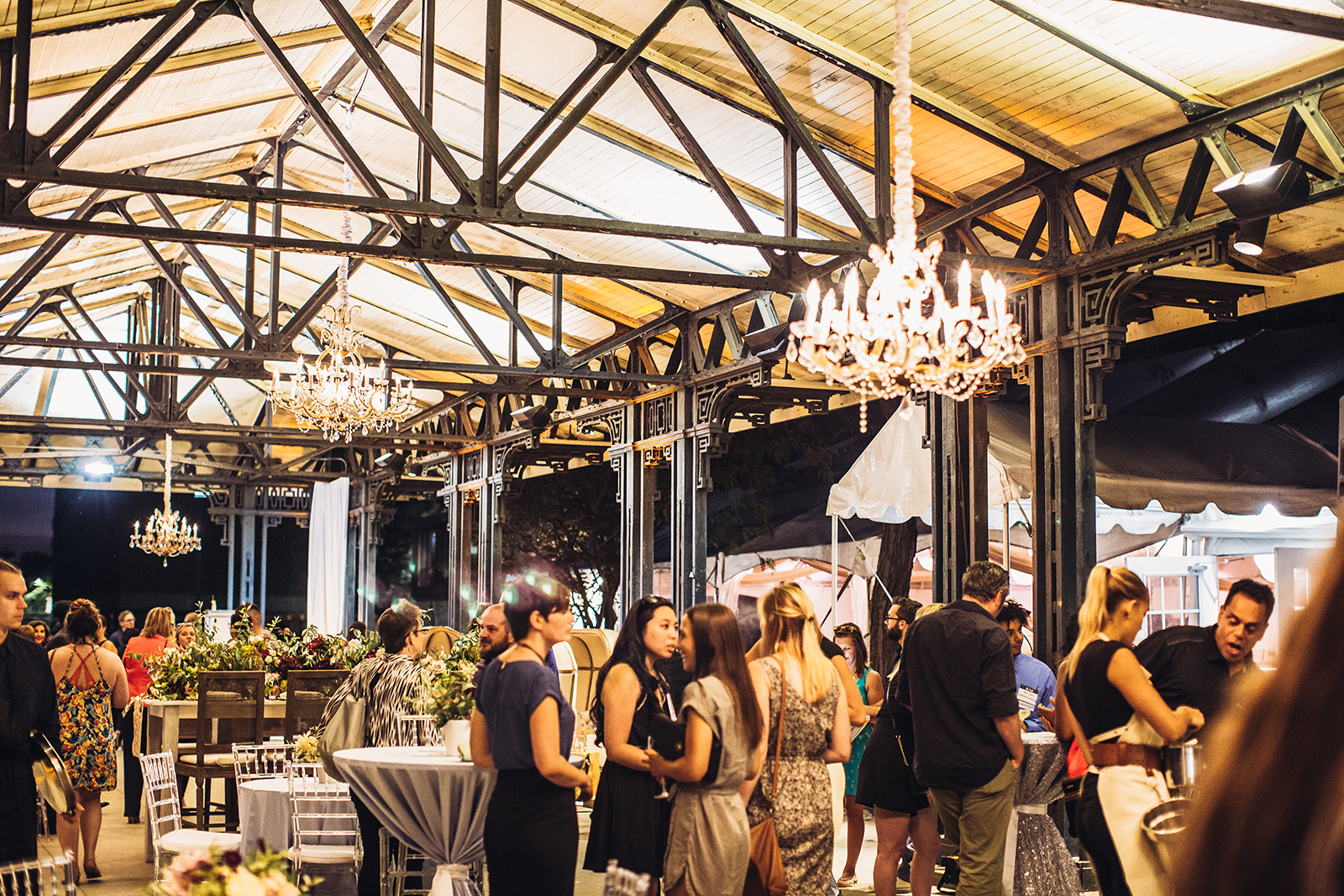 The Knot's Night By The Water Vintage Party