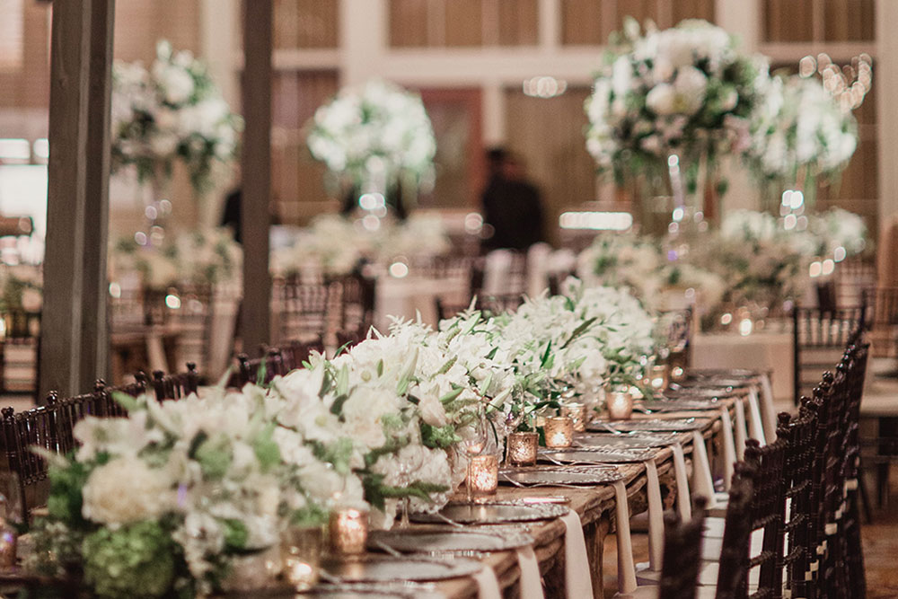 wedding party event space