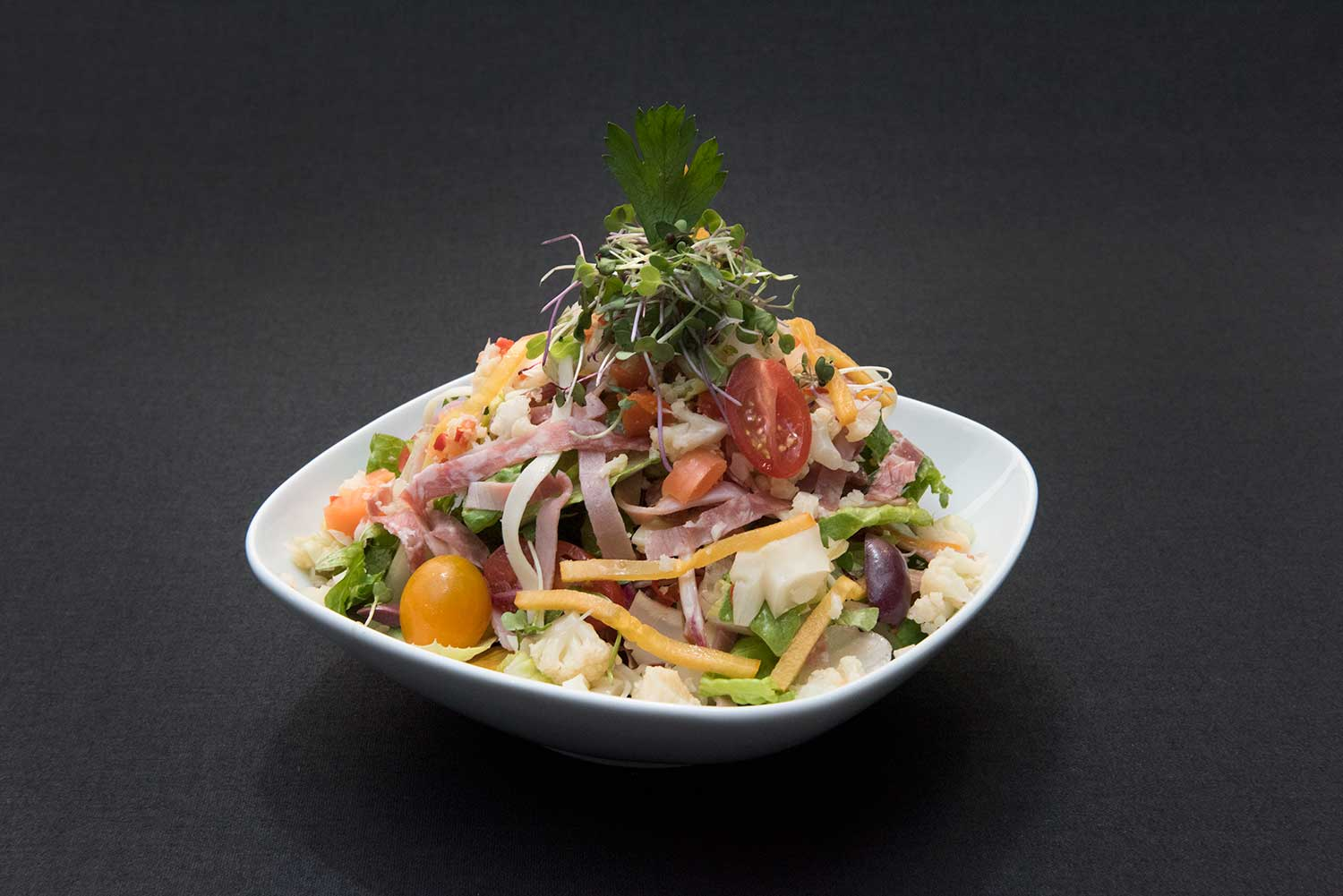 Fresh Garden Salad from Culture Kitchen at MoPop