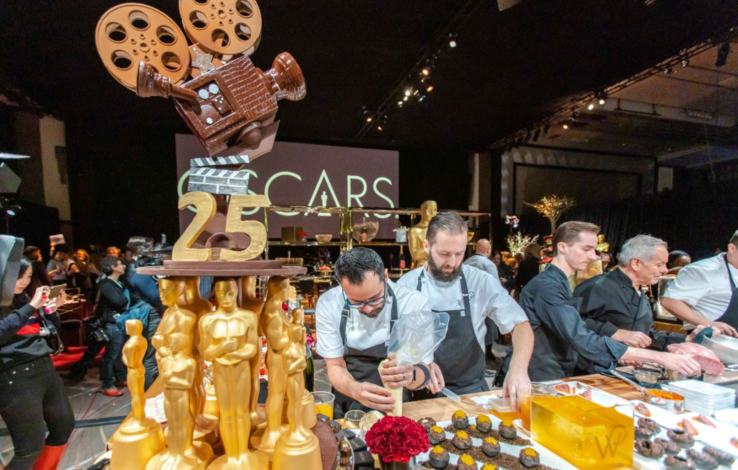 Wolfgang Puck Catering Celebrates 25 Years at the Oscars Governors Ball