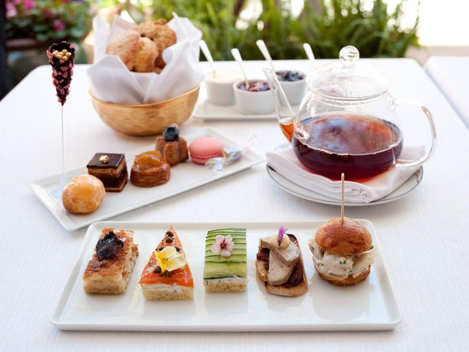 Afternoon Tea In Style At Hotel Bel Air