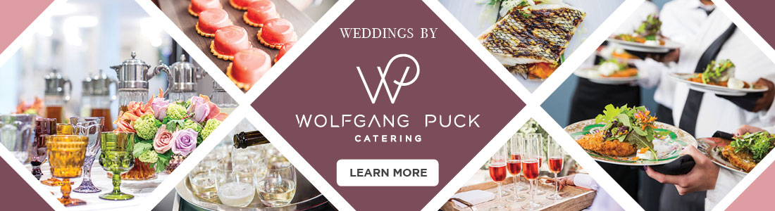 Wolfgang Puck Catering Weddings Union Station