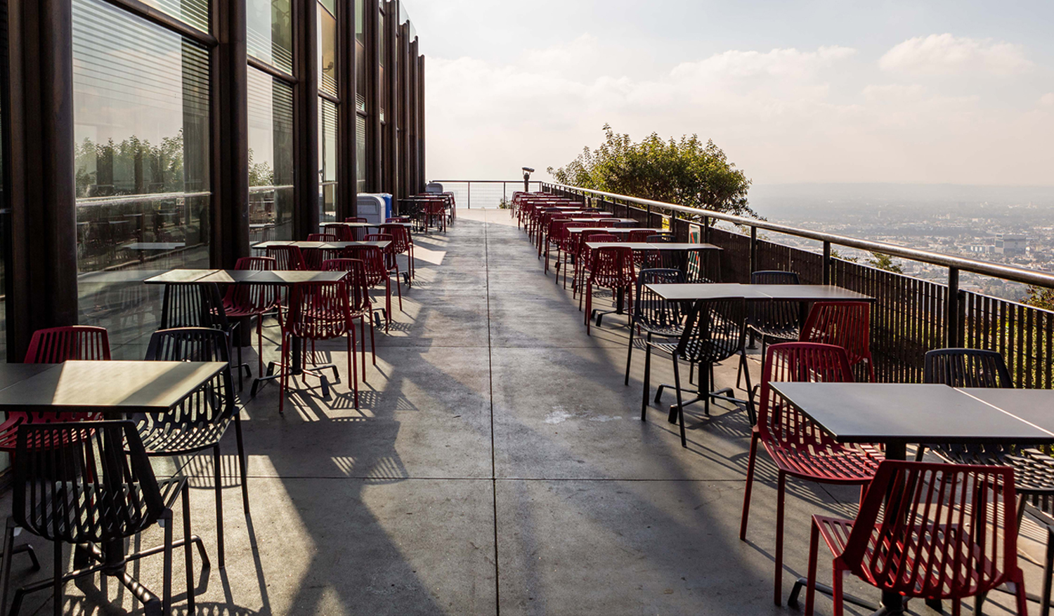Cafe at Griffith Observatory