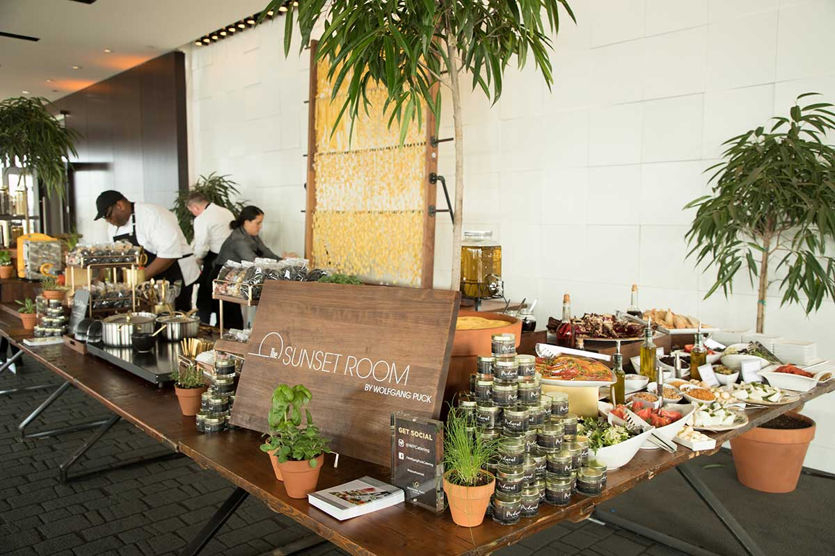 Innovative Catering by Wolfgang Puck