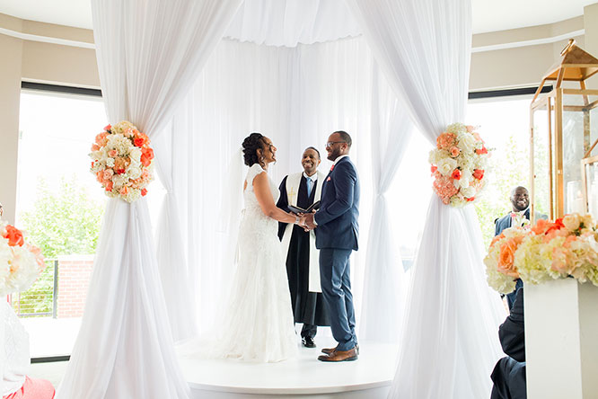 Wedding Ceremony Venue at The Sunset Room
