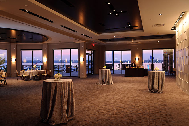 Event Venue with Outdoor Terrace at The National Harbor
