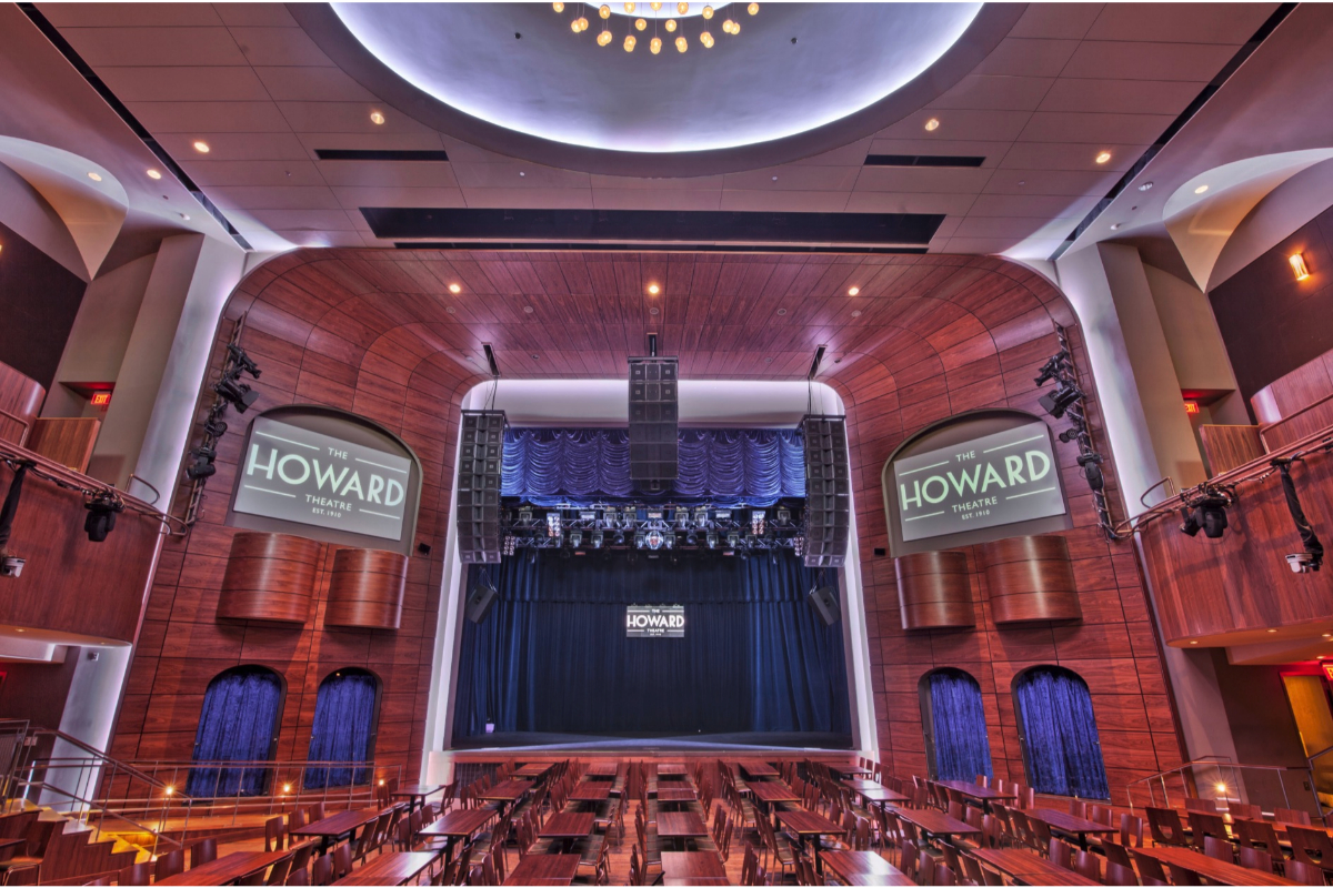 Catering services at Howard Theatre