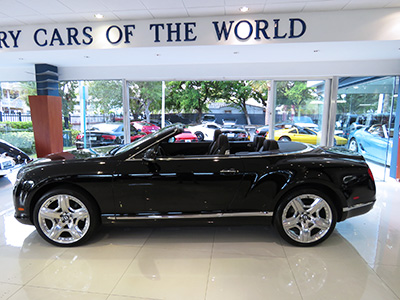 2013 Bentley Continental Mulliner Convertible