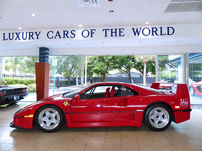 1390-Ferrari-F40 for sale