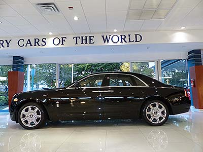 2012-Rolls-Royce-Ghost for sale