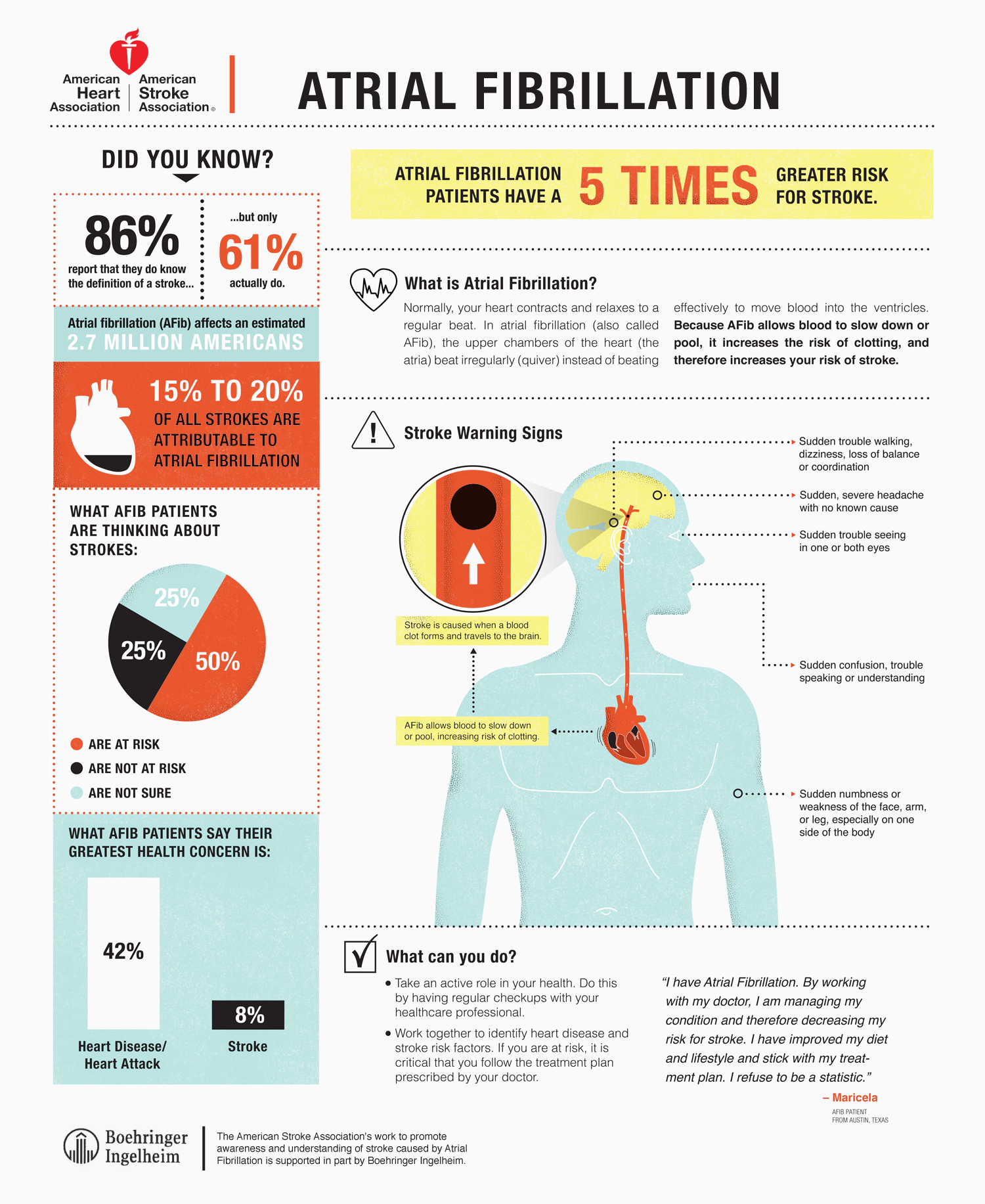 Infographic: Educating Doctors and Patients About Atrial Fibrillation
