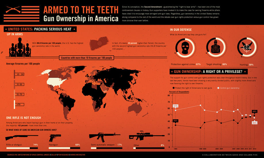 Infographic: Armed to the Teeth