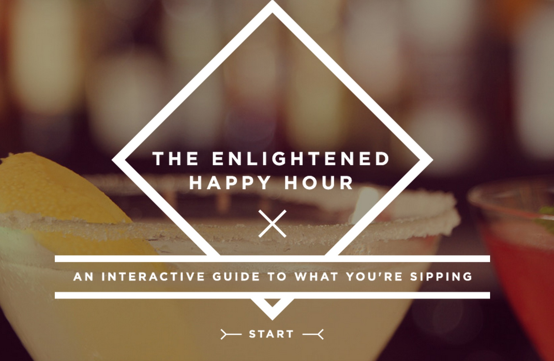 The Enlightened Happy Hour: An Interactive Guide to What You're Sipping