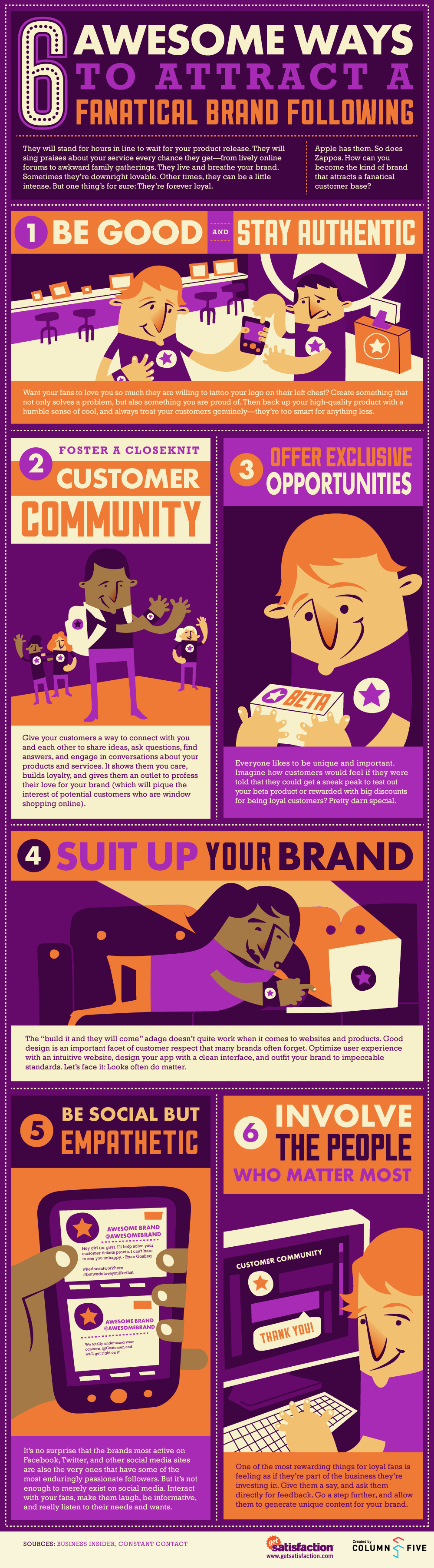Infographic: Six Ways to Attract a Fanatical Brand Following