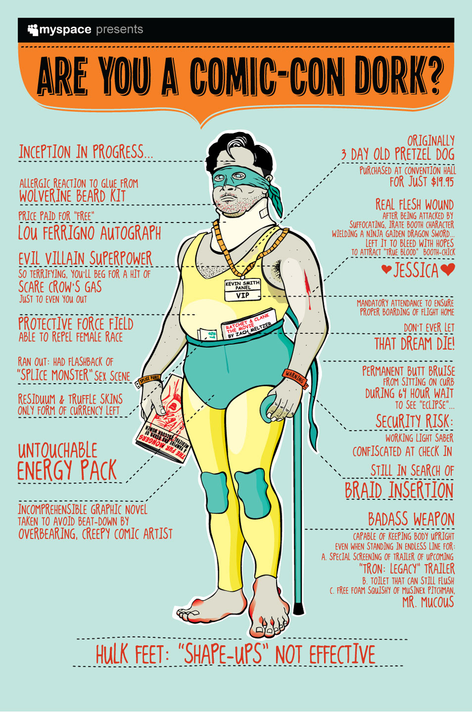 Infographic: Are You a Comic-Con Dork?