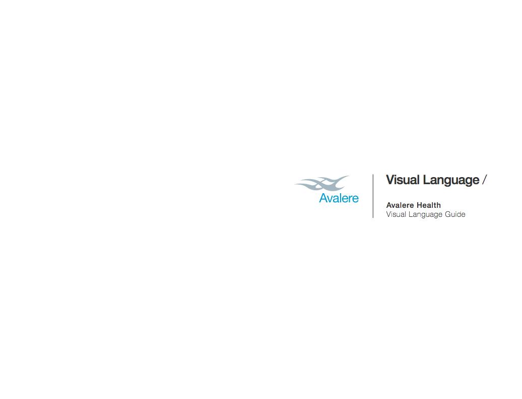 Visual Language Design: Avalere Health