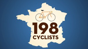 What's Trending Motion Graphic - Tour De France