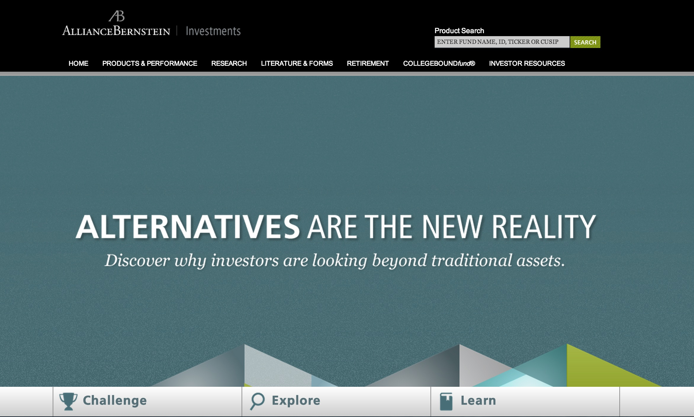 AllianceBernstein Website