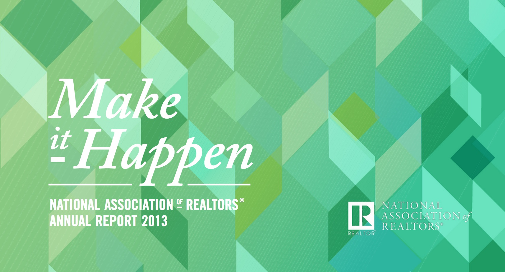 National Association of Realtors 2013 Annual Report