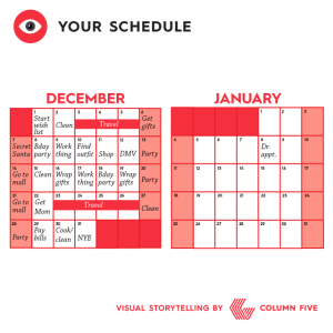 Visual Storytelling: Your Schedule