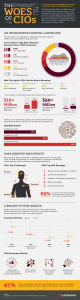 Lucidworks Infographic Design - The Woes of the CIOs