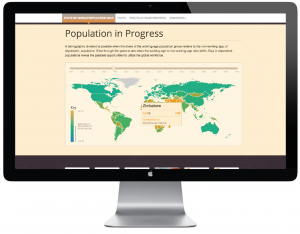 UNFPA Interactive Infographics - Population in Progress